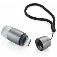 Troika USB Light Oplaadbaar Lampje Voor Sleutelbos