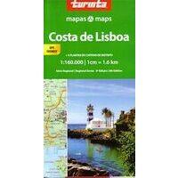 Turinta Wegenkaart Lissabon Kuststreek