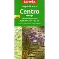 Turinta Wegenkaart Portugal Centraal 1:250.000
