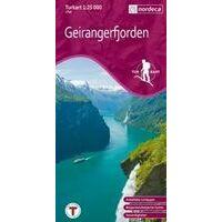Nordeca Turkart Wandelkaart 2760 Geirangerfjorden
