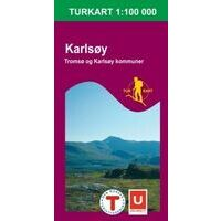 Nordeca Turkart Wandelkaart 2623 Karlsoy