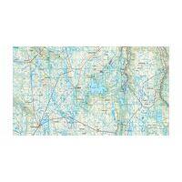 Nordeca Turkart Wandelkaart 2659 Hardangervidda Vest - West