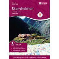 Nordeca Turkart Wandelkaart 2661 Skarvheimen