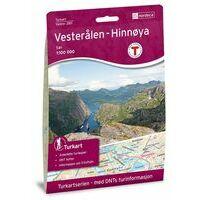 Nordeca Turkart Wandelkaart 2811 Vesteralen - Hinnoya Sor