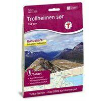 Nordeca Turkart Wandelkaart 2828 Trollheimen Sor