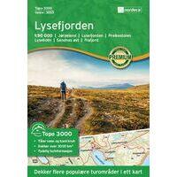 Nordeca Wandelkaart 3003 Lysefjorden