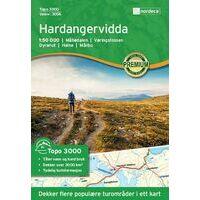 Nordeca Wandelkaart 3006 Hardangervidda
