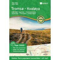 Nordeca Wandelkaart 3010 Tromso - Kvaloya