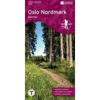 Nordeca Turkart Wandelkaart 2423 Oslo Nordmark Sommer