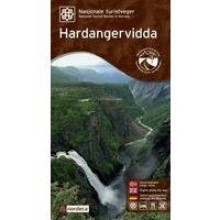 Nordeca Toeristische Wegenkaart 04 Hardangervidda