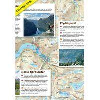 Nordeca Toeristische Wegenkaart 07 Gaularfjellet