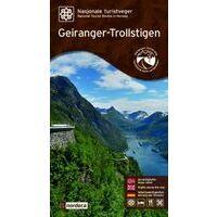 Nordeca Toeristische Wegenkaart 11 Geiranger-Trollstigen
