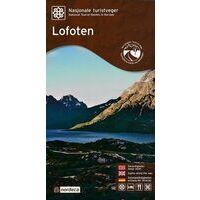 Nordeca Toeristische Wegenkaart 14 Lofoten