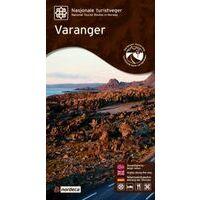 Nordeca Toeristische Wegenkaart 18 Varanger