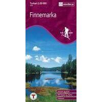 Nordeca Turkart Wandelkaart 2221 Finnemarka