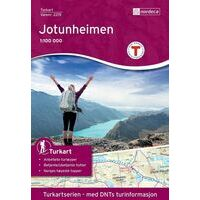 Nordeca Turkart Wandelkaart 2215 Jotunheimen
