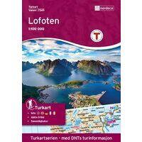 Nordeca Turkart Wandelkaart 2549 Lofoten
