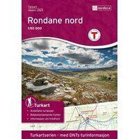 Nordeca Turkart Wandelkaart 2523 Rondane Noord