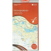 Nordeca Wandelkaart 10039 Hardangerjokulen