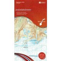 Nordeca Wandelkaart 10063 Jostedalsbreen