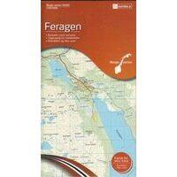 Nordeca Wandelkaart 10081 Feragen