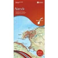 Nordeca Wandelkaart 10139 Narvik