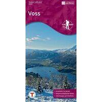 Nordeca Turkart Wandelkaart 2201 Voss