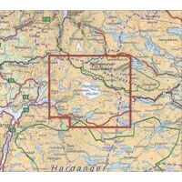 Nordeca Turkart Wandelkaart 2241 Finse