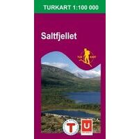 Nordeca Turkart Wandelkaart 2335 Saltfjellet