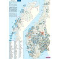 Nordeca Turkart Wandelkaart 2503 Jotunheimen Oost
