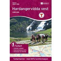 Nordeca Turkart Wandelkaart 2558 Hardangervidda West
