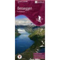 Nordeca Turkart Wandelkaart 2649 Besseggen