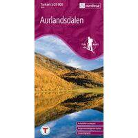 Nordeca Turkart Wandelkaart 2651 Aurlandsdalen