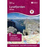 Nordeca Turkart Wandelkaart 2681 Lysefjorden