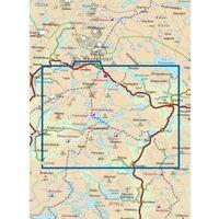 Nordeca Turkart Wandelkaart 2684 Hovden Noord