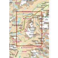 Nordeca Turkart Wandelkaart 2759 Smorstabbtindane
