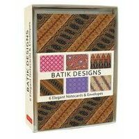 Tuttle Publishing Batik 6 Note Cards & Envelopes
