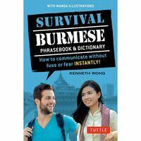 Tuttle Publishing Survival Burmese Phrasebook & Dictionary