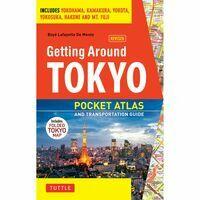 Tuttle Getting Around Tokyo Pocket Atlas