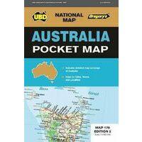 UBD Maps Australia Australia Pocket Map