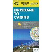 UBD Maps Australia Brisbane To Cairns