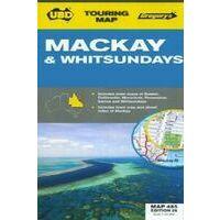 UBD Maps Australia Mackay & Whitsundays Map