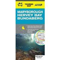 UBD Maps Australia Maryborough Hervey Bay Map 1:25.000