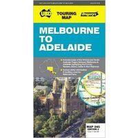 UBD Maps Australia Melbourne To Adelaide Wegenkaart