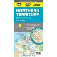 UBD Maps Australia Northern Territory State Map