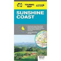 UBD Maps Australia Sunshine Coast Map 1:25.000