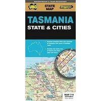 UBD Maps Australia Tasmania State Map