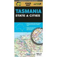 UBD Maps Australia Wegenkaart Tasmania State & Cities 1:625.000