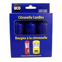 UCO UCO Citronella Kaarsen Voor UCO Lantaarn 3 Stuks