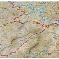 Vektor Maps Wegenkaart Albanie Centraal 1:200.000